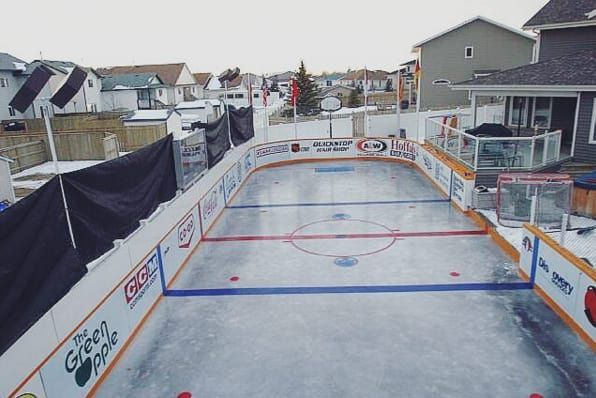 13 Backyard Rinks That Will Give You The Chills   Backyard ...