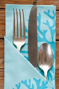 silverware pocket napkinfold