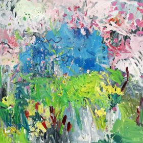 Spring abstract by Lilia Orlova-Holmes