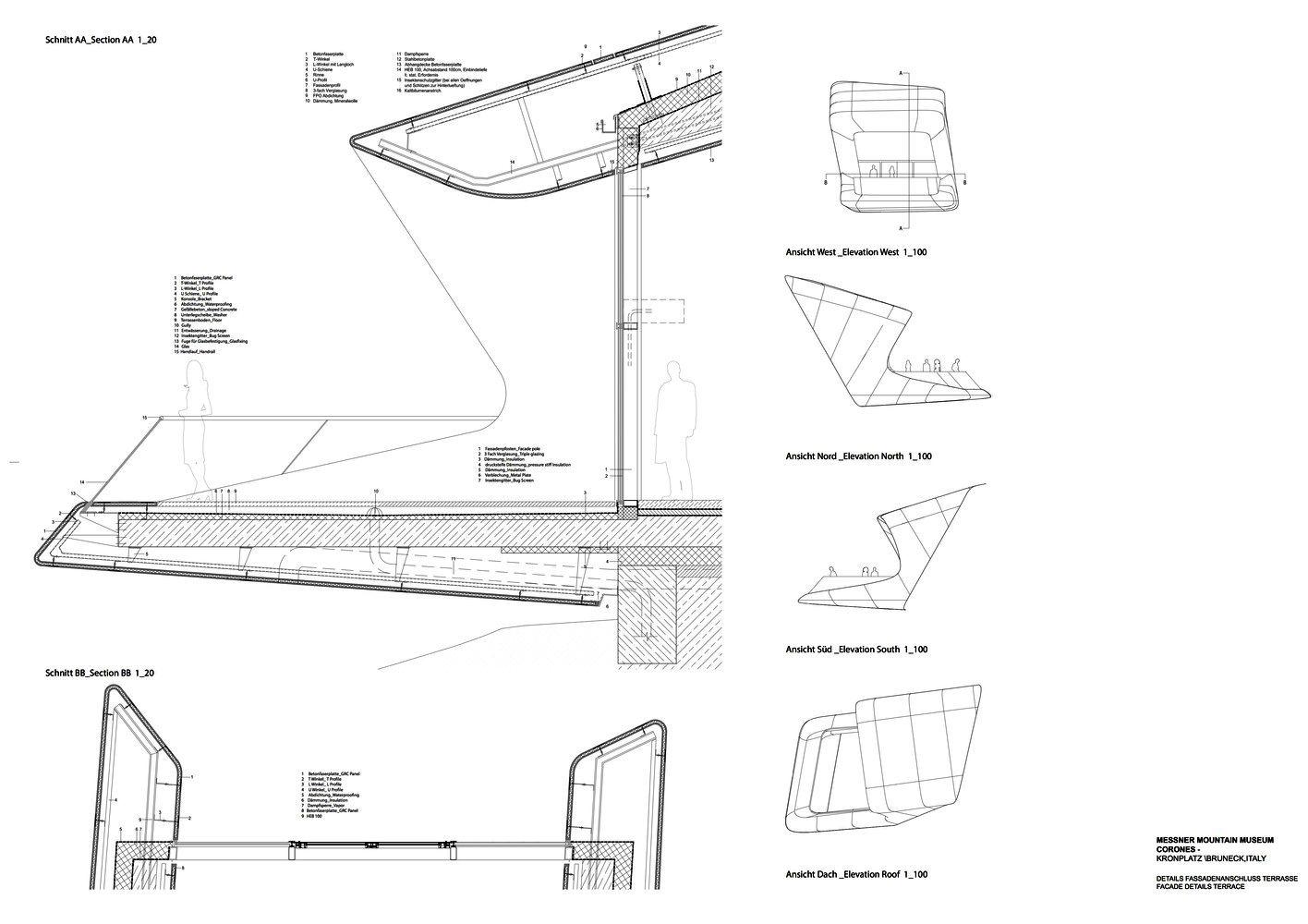 Galeria De Detalles Constructivos De La Obra De Zaha Hadid