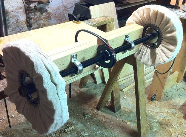 Diy Buffing Machine Diy Sheet Metal Tools Machine