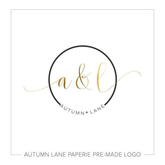 Premade Logo Design Simple Logo Circle Logo Watermark Logo