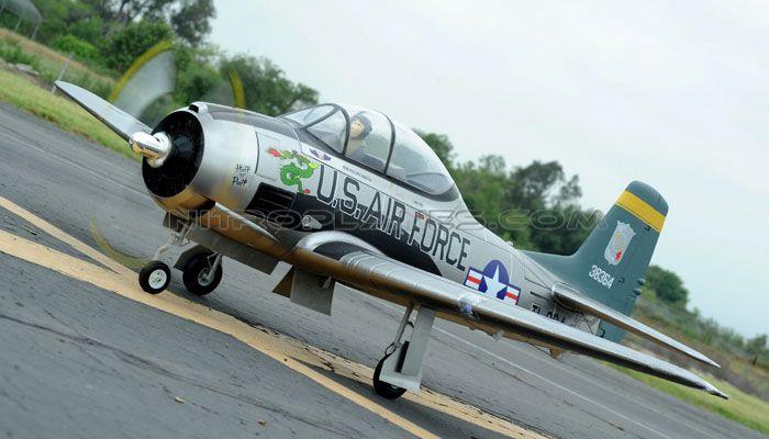 AirField RC T28 1400mm Radio Control Warbird Plane *Super