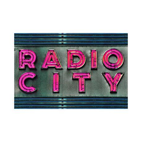 """Radio Radio (16""""W x 24""""L x 1.5""""D)"""