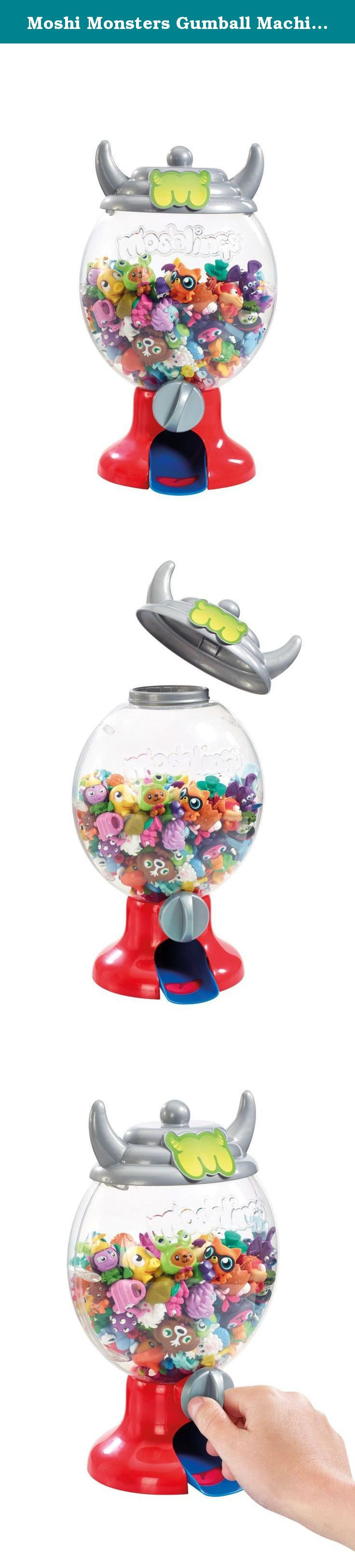 Moshi Monsters Gumball Machine *INCLUDES EXCLUSIVE