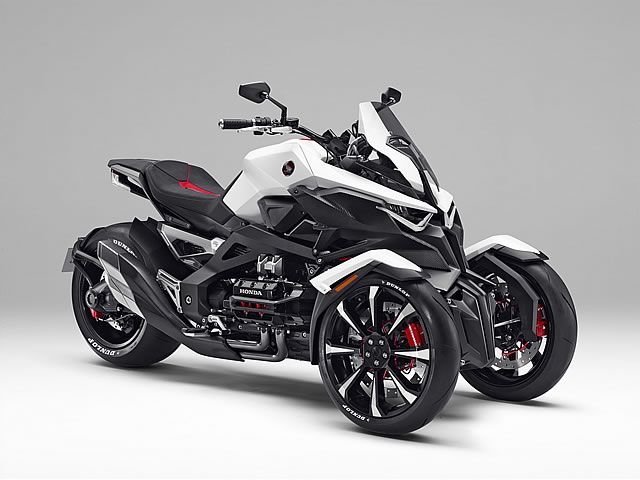 #honda concept 2015 neowing three wheel bike