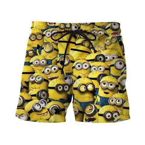 5edc39c512 Minions Board Shorts - JAKKOUTTHEBXX - Swim Shorts   Swim Shorts ...