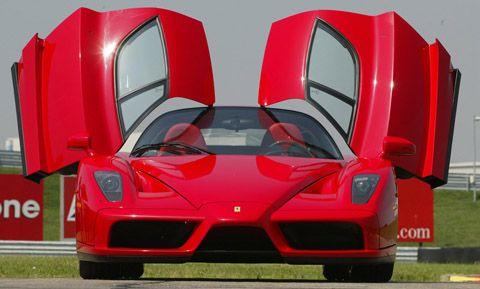 Oh Yeah Red Sports Car Ferrari Enzo Sports Cars Luxury