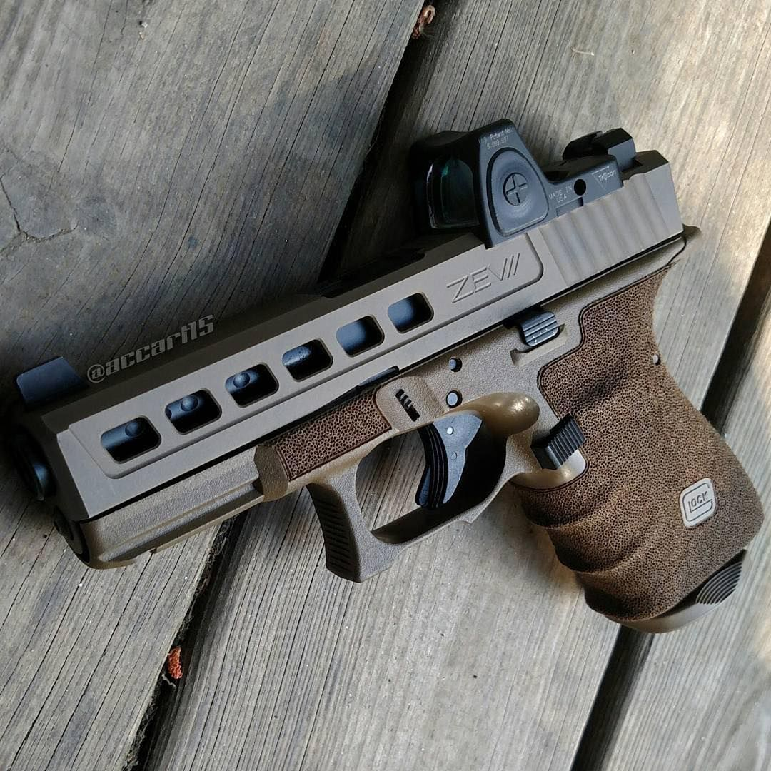 17 Best Ideas About Danish Chair On Pinterest: @accart15 Glock 19 Gen 4 With Integrated Backstrap