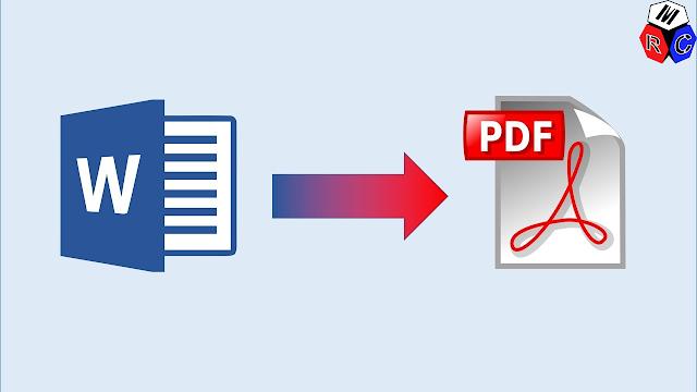 Langkah Langkahnya Convert Word Ke Pdf Dengan Microsoft Word 1 Buka File Word Anda Yang Ingin Anda Convert Menjadi Pdf