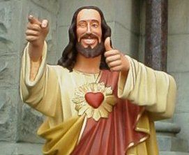 Buddy Christ Buddy Christ Jesus Images Dogma Buddy jesus christ statue figurine from kevin smith's dogma movie i smile every time i see it. buddy christ buddy christ jesus