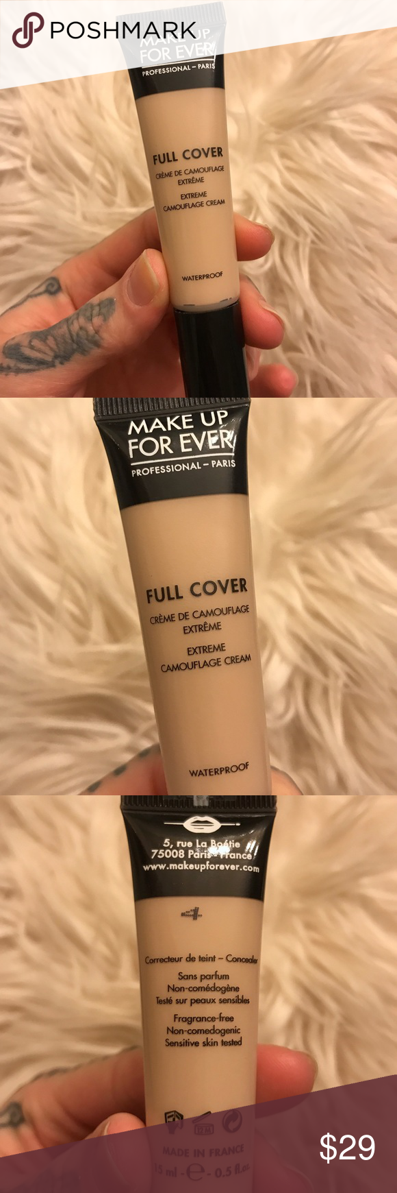 BRAND NEW MAKE UP FOREVER Full Cover Concealer NWT