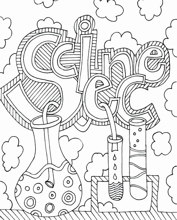 Mad Scientist Coloring Page Awesome Science Coloring Pages Best Coloring Pages For Kids Science Doodles Science Notebook Cover School Subjects