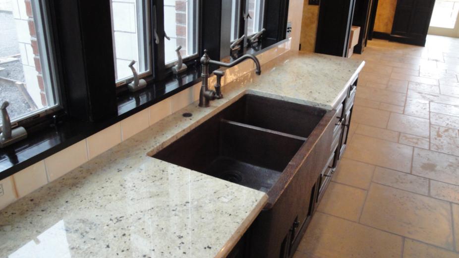 Bianco Romano Excellent Precut Granite Countertop Kitchen