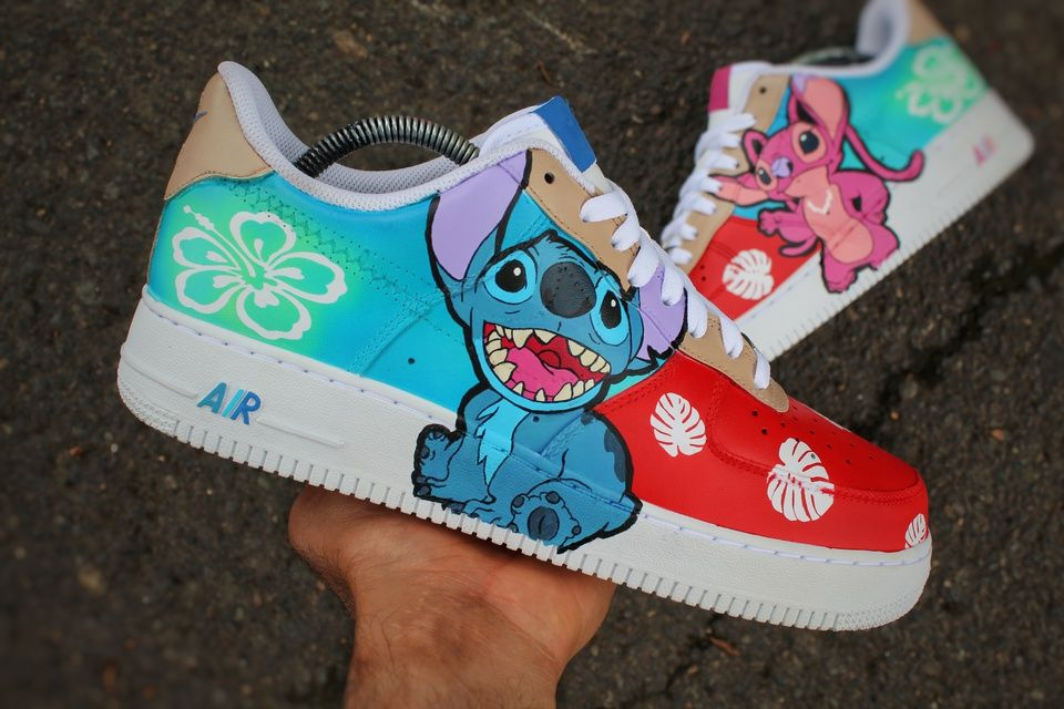 air force 1 plateadas