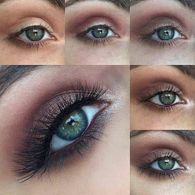 31 Pretty Eye Makeup Looks For Green Eyes Stayglam Beauty Makeup