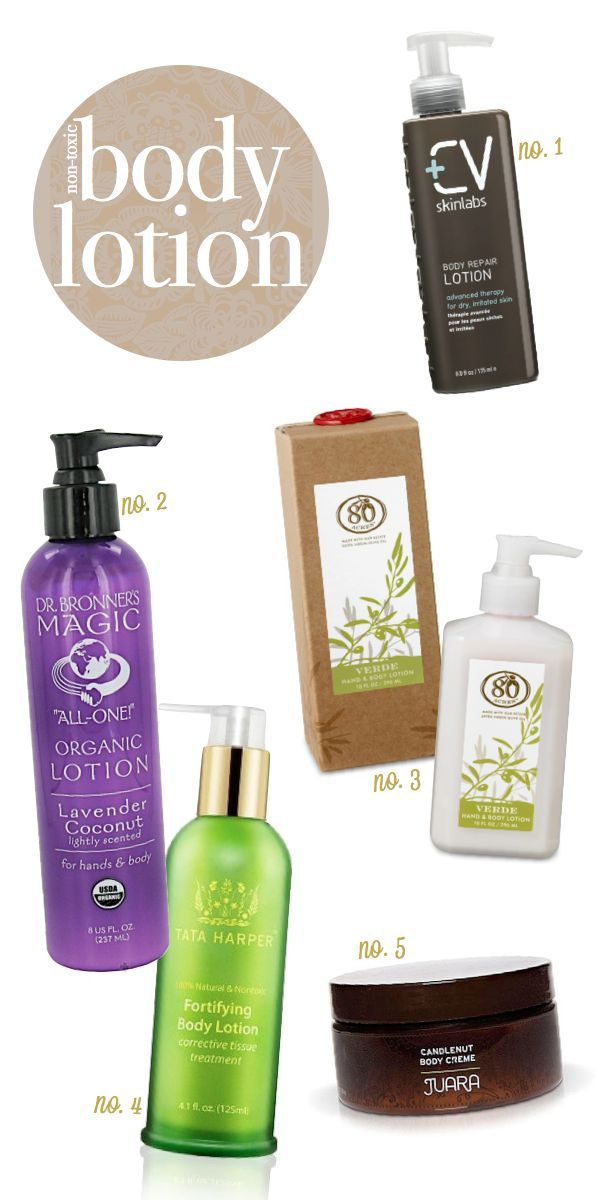 Non Toxic Body Lotion Products Organic Lotion Natural Skin