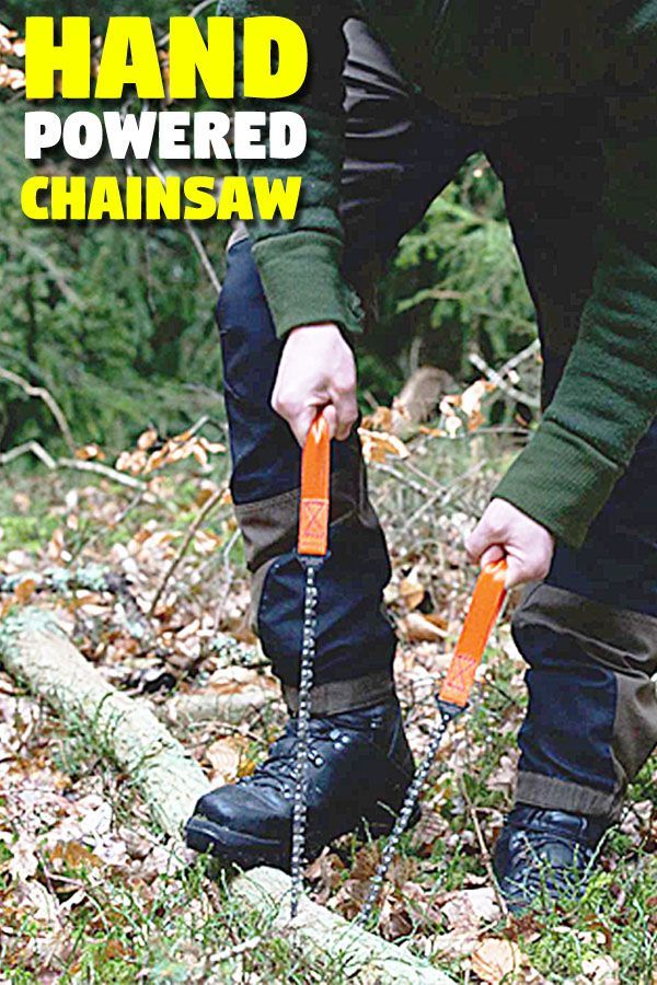 Photo of Hand-operated pocket saw – tents