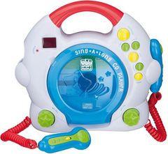 Kunterbunter CD Player für Kinder.