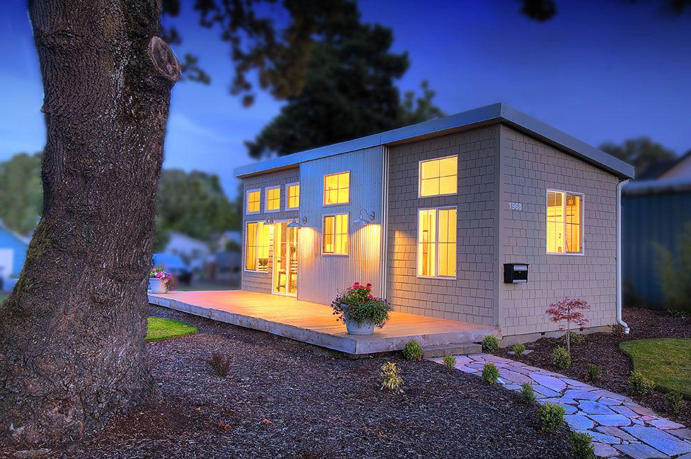 The Box By Ideabox Salem Oregon Small House Plans Tiny