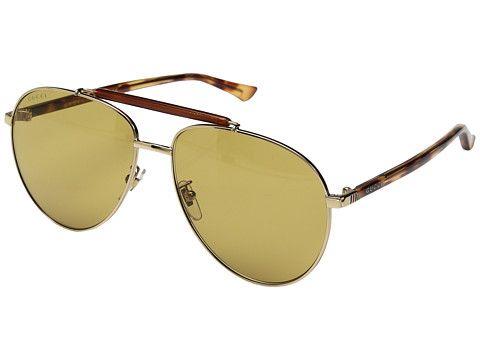 Explore Óculos De Sol Claros e muito mais! Gucci GG0014S 8363ebfd18