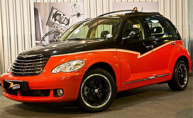 Boteko Do Rock Zz Top Pt Cruiser Rock N Roll Chrysler Pt