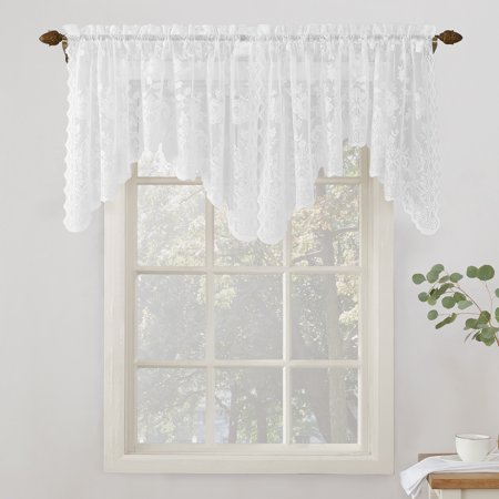 Home In 2020 Lace Curtain Panels Valance Curtains Lace Window