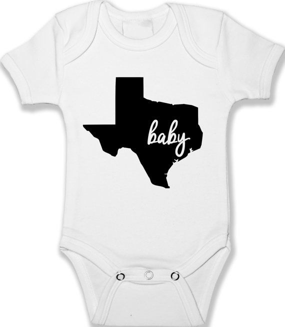 Texas Home State Baby Bodysuit Infant Baby Clothing Unisex