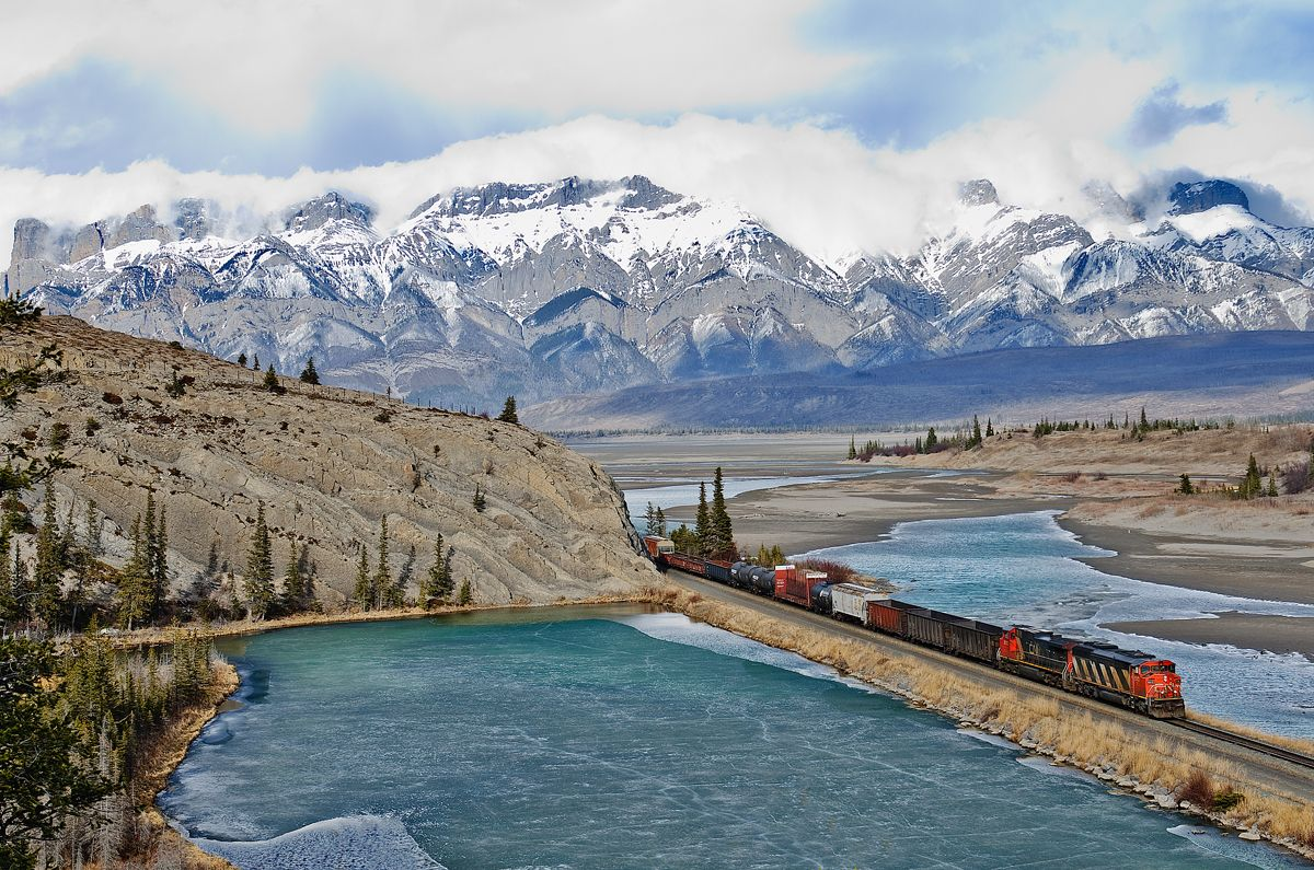 Canadian national railway image by Maurice Quirin on Banff