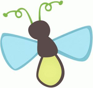 L Is For Lightning Bug Coloring Page Spring Pinterest