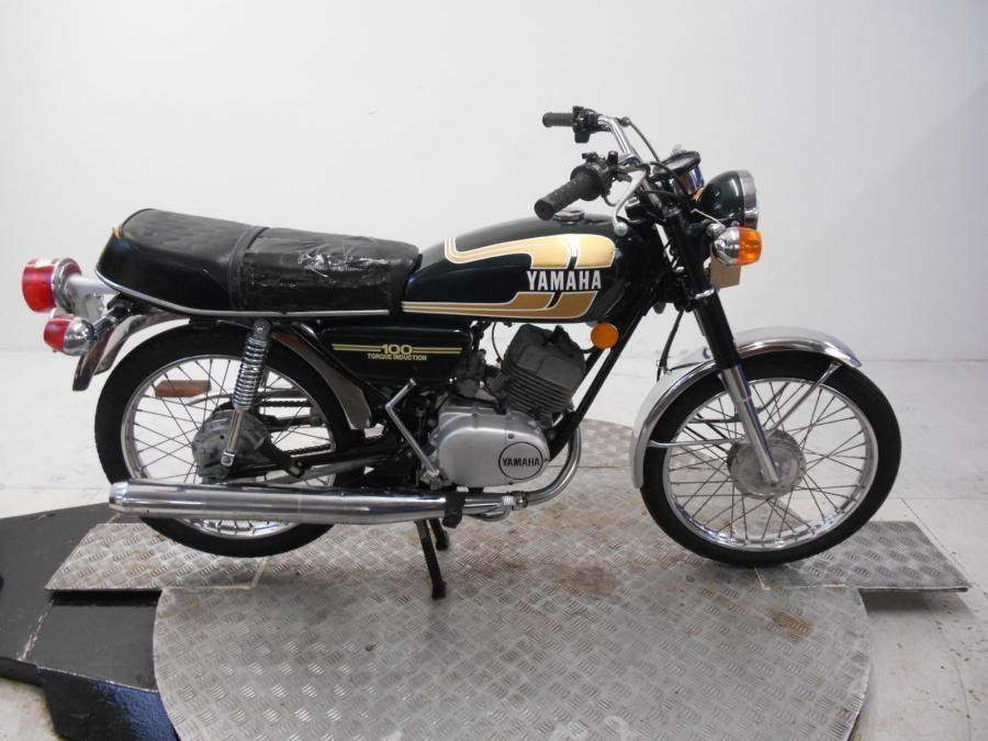 eBay: 1975 Yamaha RS100B Unregistered US Import Barn Find ...