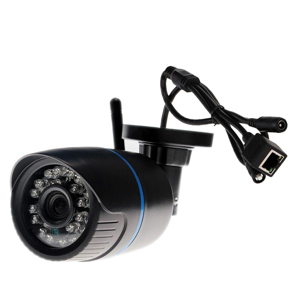 1080P//720P HD Wifi IP Wireless P2P Security CCTV Bullet In//Outdoor IR Camera SD