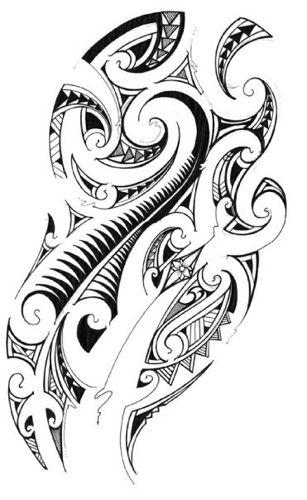 Maori Kiwi Tattoo: Samoan Tattoo, Tribal Tattoos, Hawaiian
