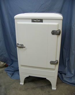 1934 frigidaire refrigerator r frig rateur vintage www. Black Bedroom Furniture Sets. Home Design Ideas