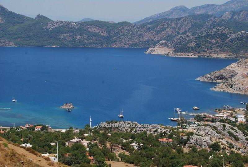 Hilltops views of Selimiye village
