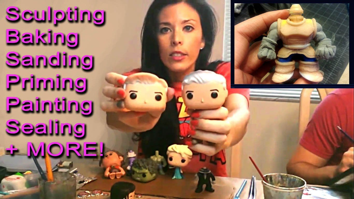 How To Customize Funko Pop Diy Toy Tutorial Sculpting