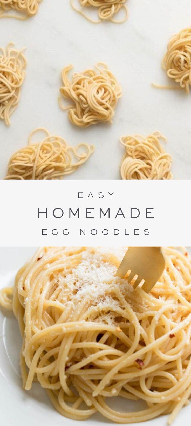 Homemade egg noodles with video julie blanner homemade