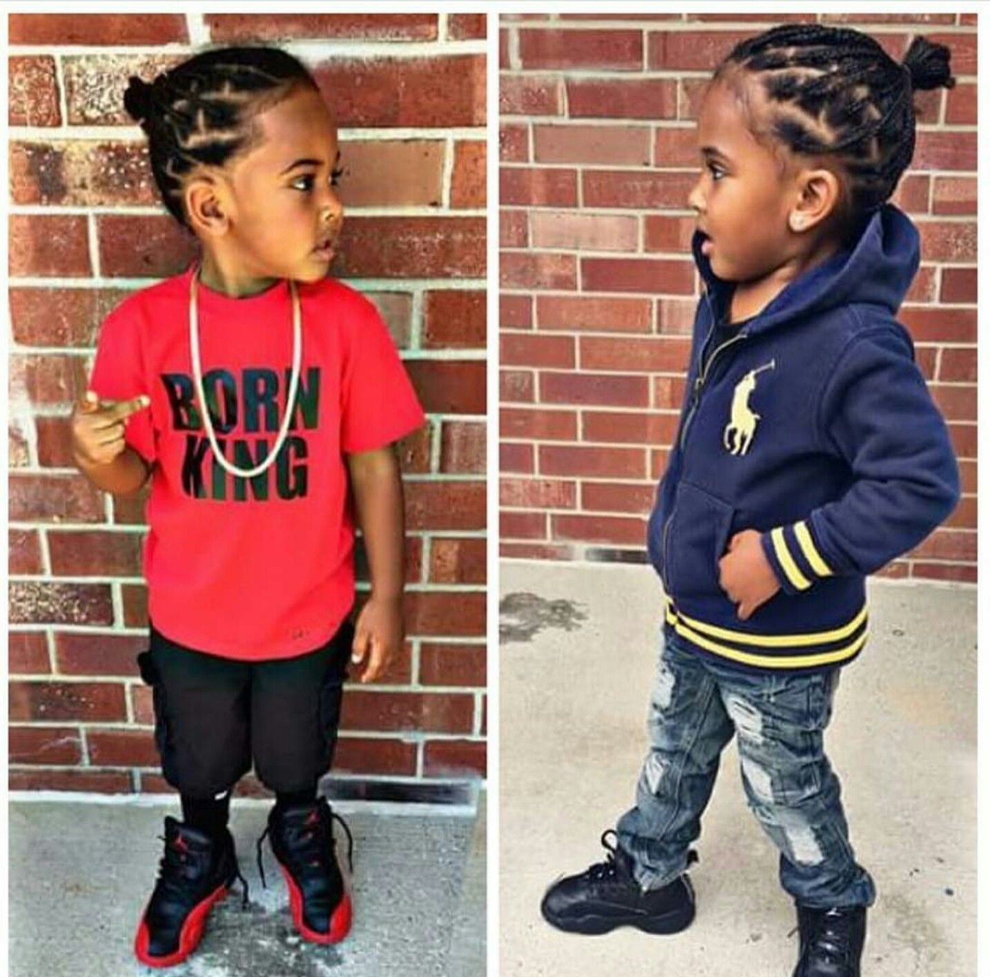 Pin Credit Thatkidddee Follow Her For More Poppin Pins Baby Boy Hairstyles Braids For Boys Little Boy Braids