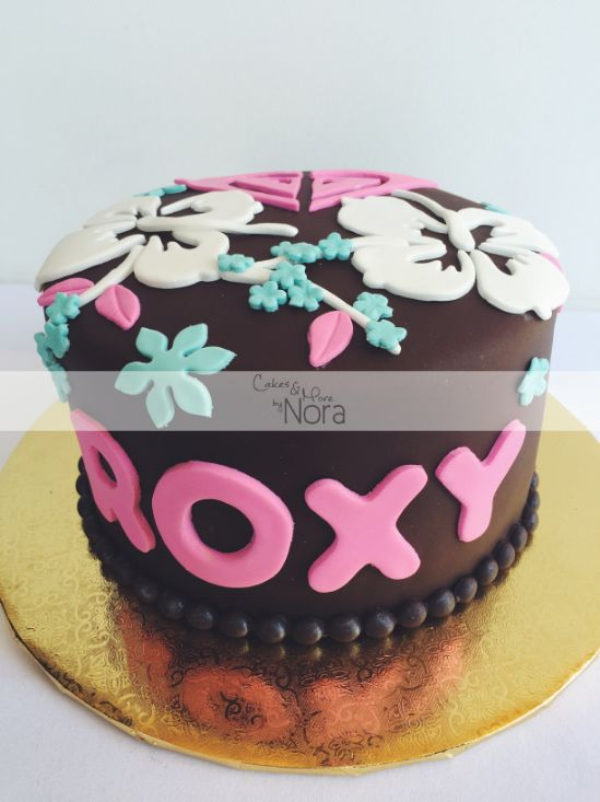 Roxy Cake Cakeore By Nora Cakes For Her Pasteles Para