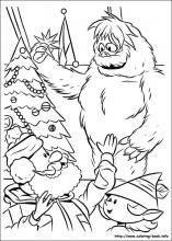 Bumble Coloring Pages My Son Loves The Bumble Rudolph Coloring Pages Snowman Coloring Pages Christmas Coloring Sheets