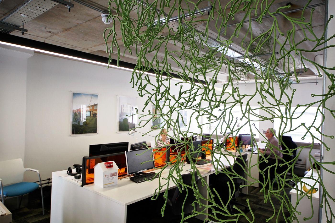 Light and bright design studio at the Tempest.