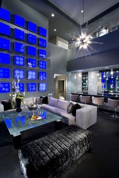 Masculine interior design glammed out interior design cobalt blue