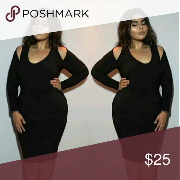 Plus Size Black Bandage Dress Brand New With Tags  Also available in burgendy red. XL fits a Size 10. XXL fits a Size 12. XXXL fits a Size 14. Dresses