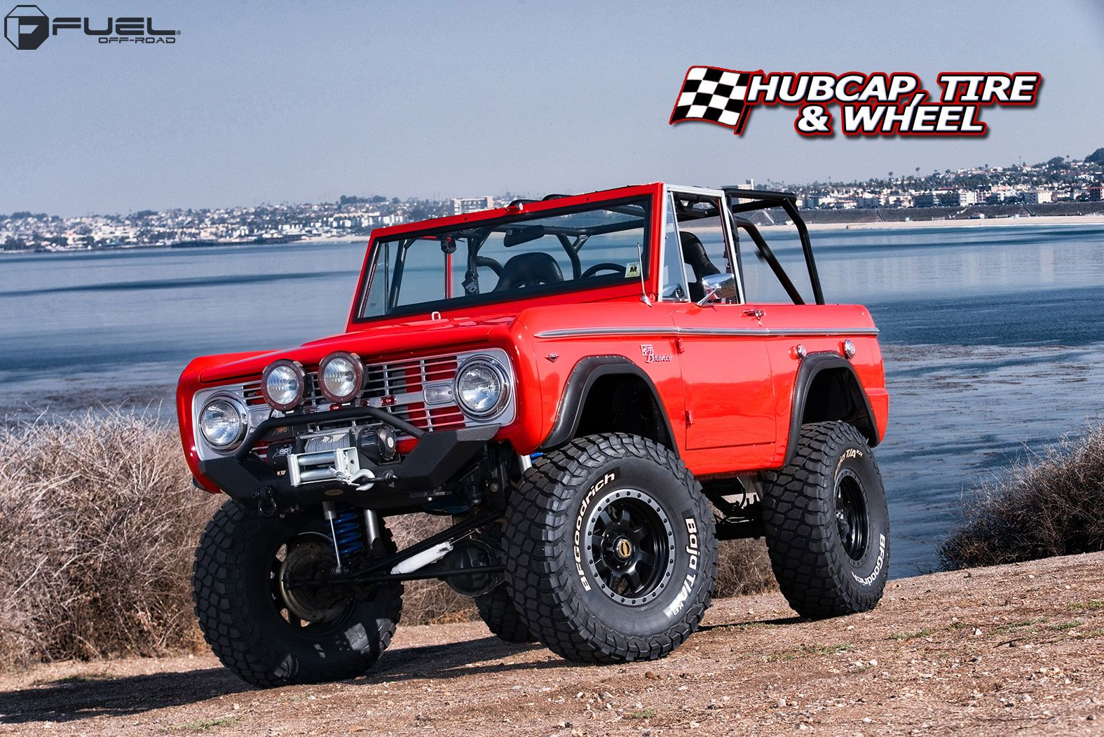 Fuel D551 Trophy Wheels Rims Ford Bronco Old Ford Bronco Classic Bronco