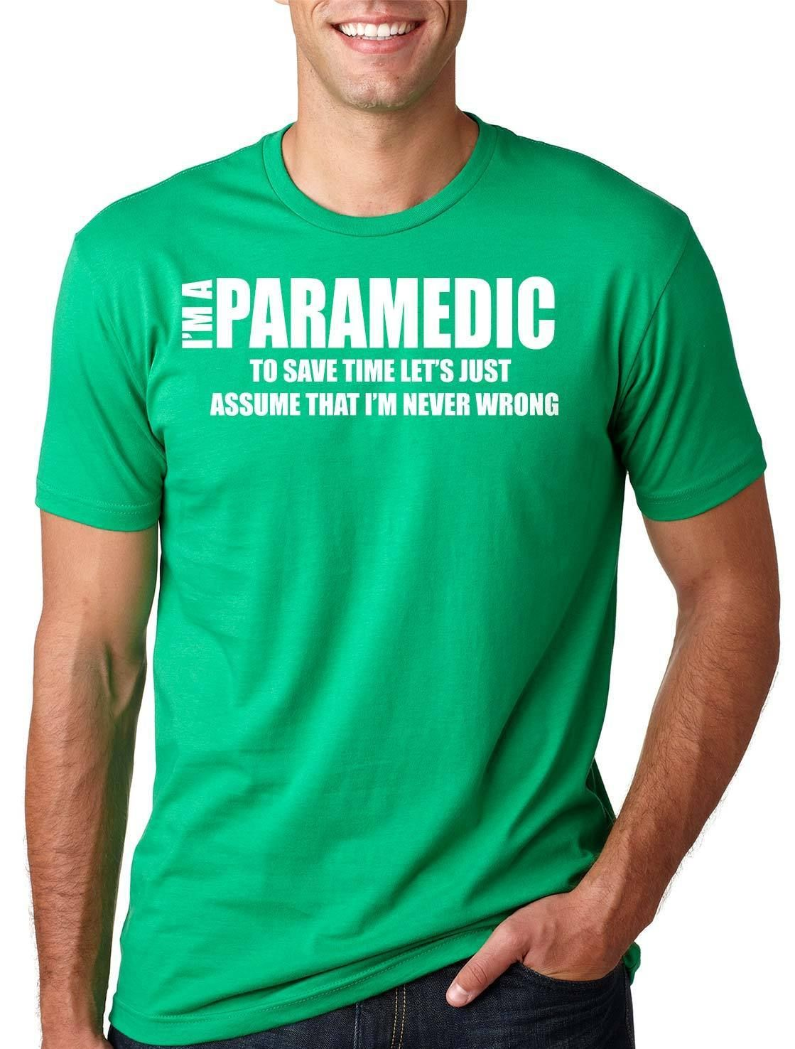 Details about paramedic funny tshirt emt paramedic gift
