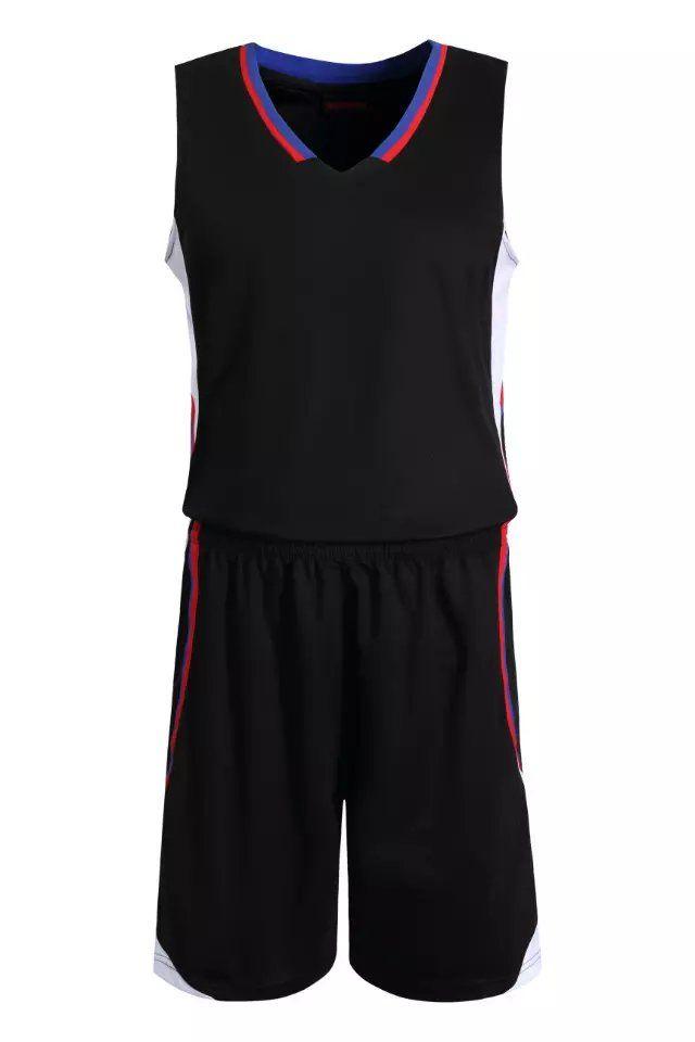 d580581570d Black Blank Basketball Suit Team Name Logo Custom Usa Basketball Throwback  Cheap Sleeveless Basketball Uniforms DIY