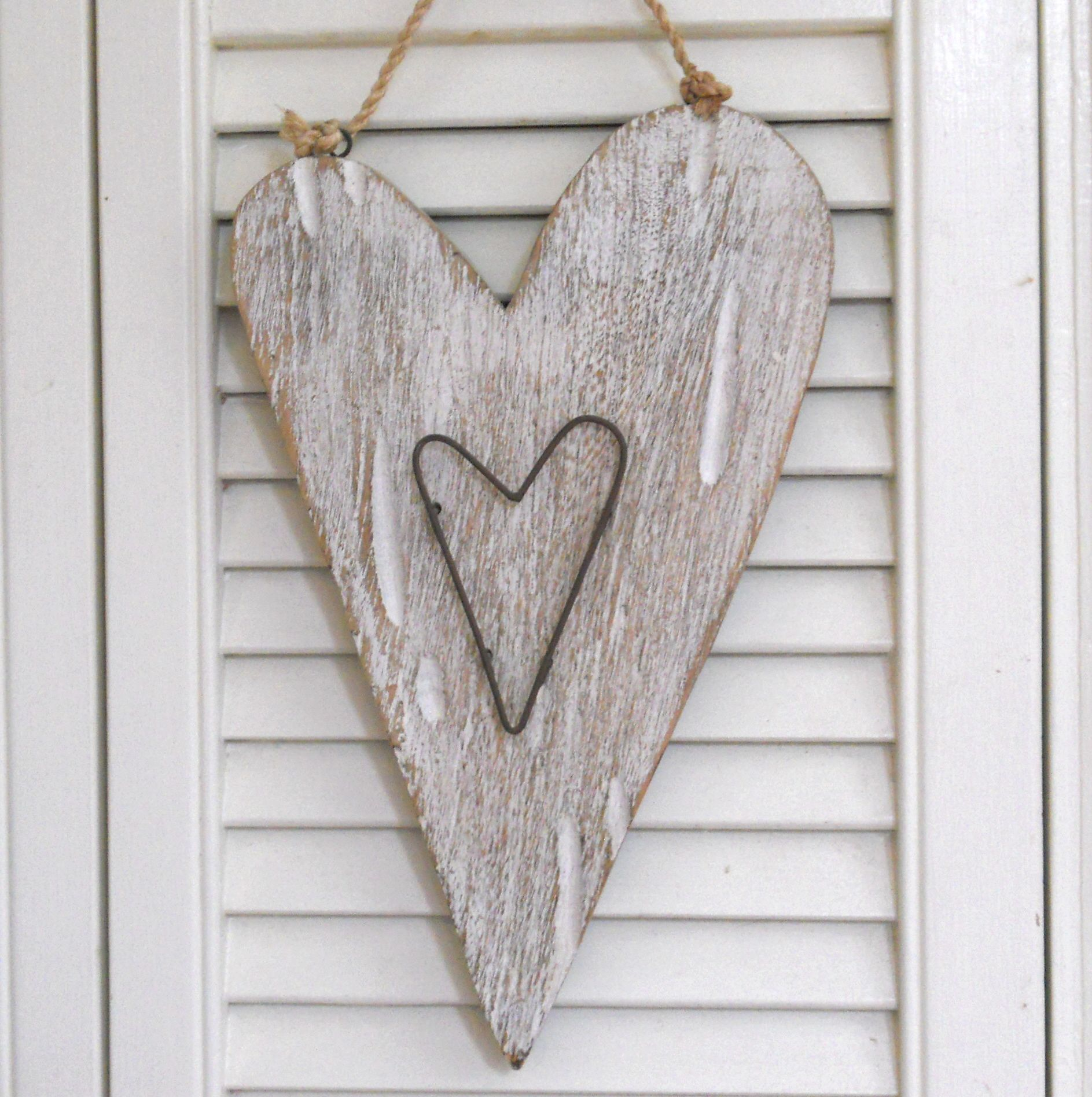 Rustic Heart With A Nautical Feel With Images Love Heart Heart Women