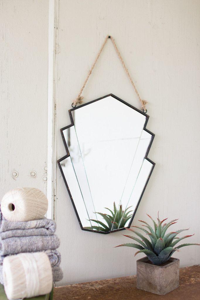 Art Deco Wall Mirror | Art deco wall mirror, Art deco ...