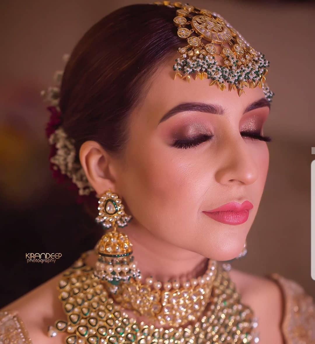 Simple and subtle bridal makeup in 2020 Bridal makeup