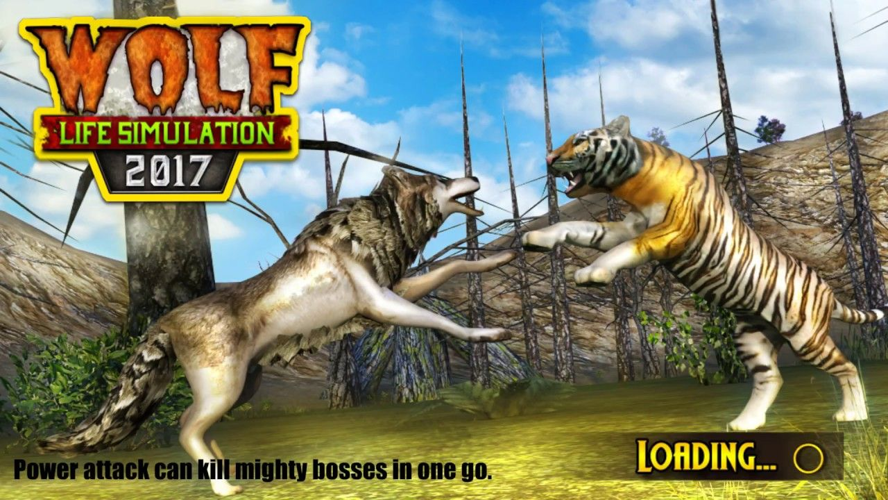 Wolf Life Simulation 2017 Android & ios gameplay Real